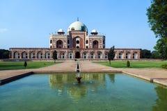 O túmulo de Humayun. Deli, India foto de stock