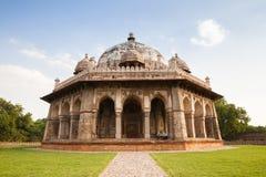 O túmulo de Isa Khan Niyazi, complexo do túmulo de Humayun em Deli foto de stock
