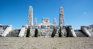 O túmulo de Stefanik, Eslováquia Foto de Stock