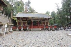 O túmulo de Tokugawa Ieyasu no santuário de Tosho-gu fotos de stock royalty free