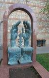 O túmulo do pintor Georgian Lado Gudiashvili Fotografia de Stock