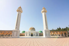 O túmulo do presidente de Tunísia Imagens de Stock
