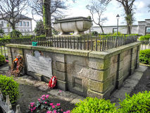O túmulo do Tenente General Sir John Moore Imagens de Stock Royalty Free