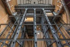 O túnel de Elbe, uma sensação técnica fotos de stock royalty free