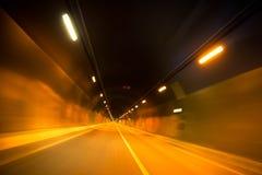 O túnel do tempo Imagens de Stock Royalty Free