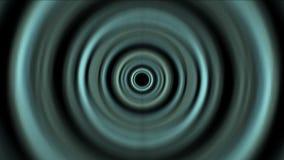 o túnel 4k de alta velocidade abstrato, circunda o canal leve, espaço 3d acústico do soundwave ilustração stock