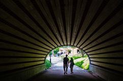 O túnel no Central Park, New York Foto de Stock Royalty Free