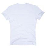 O t-shirt dos homens isolado em um branco foto de stock royalty free
