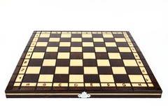 O tabuleiro de xadrez Fotos de Stock Royalty Free