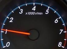 O tacômetro do veículo imagem de stock royalty free