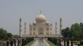 O Taj Mahal Maravilha do mundo Imagens de Stock