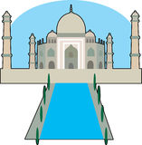 O Taj Majal Fotografia de Stock Royalty Free