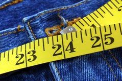 O tamanho perfeito da cintura para uma senhora Fotografia de Stock