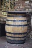 O tambor é de madeira Imagens de Stock Royalty Free
