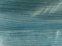 O tampo da mesa velho, azul marinho para fora manchado vestido com máscaras Estrutura fina da madeira s da cereja Fotos de Stock Royalty Free