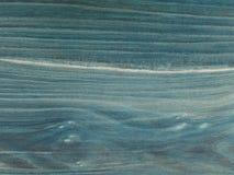 O tampo da mesa velho, azul marinho para fora manchado vestido com máscaras Estrutura fina da madeira s da cereja Imagem de Stock