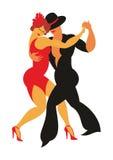 O tango de Argentina Imagem de Stock Royalty Free