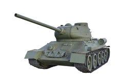 O tanque legendário T-34 imagens de stock