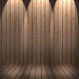 O tapume da parede e do assoalho resistiu ao fundo de madeira, textura de madeira Imagem de Stock Royalty Free