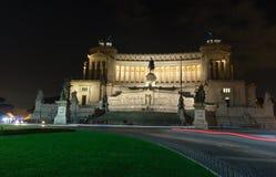 Ołtarz Fatherland nocy widok Obraz Stock
