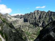 O Tatras elevado Fotos de Stock Royalty Free