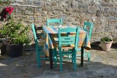 O Taverna grego imagens de stock