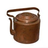 O teapot de cobre antigo Imagens de Stock Royalty Free
