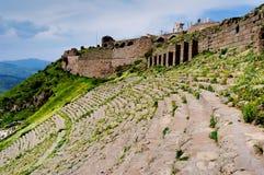 O teatro antigo em Turquia Imagens de Stock Royalty Free