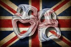 Teatro britânico ilustração royalty free