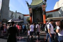 O teatro chinês de Grauman, Hollywood, Los Angeles, EUA Imagens de Stock