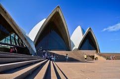 O teatro da ópera de Sydney Fotos de Stock