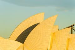 O teatro da ópera navega o nascer do sol Imagem de Stock
