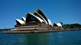 O teatro da ópera Sydney Australia imagem de stock