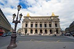 O teatro da ópera grande Fotos de Stock Royalty Free