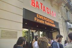 O teatro de Bataclan Imagens de Stock Royalty Free