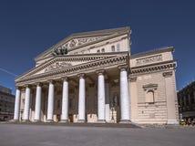 O teatro de Bolshoi em Moscou Foto de Stock