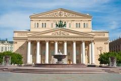 O teatro de Bolshoi, Moscovo, Rússia Fotografia de Stock