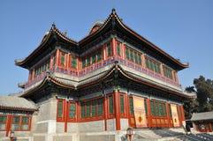 O teatro de Cixi no palácio de verão Imagens de Stock