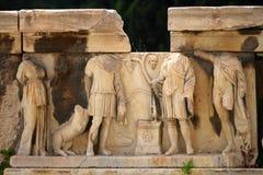 O teatro de Dionysus foto de stock royalty free