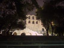 O teatro de Herodion imagens de stock royalty free