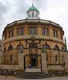 O teatro de Sheldonian em Oxford Construído em 1669 a um projeto por Sir Christopher Wren imagens de stock