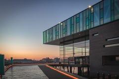 O teatro dinamarquês real em Copenhaga fotos de stock royalty free