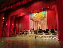 O teatro do compartimento interno fotografia de stock royalty free