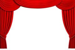 O teatro drapeja ilustração do vetor
