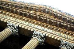 O Teatro Massimo [02] Fotos de Stock Royalty Free