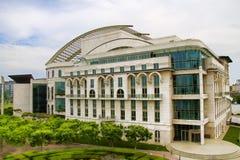 O teatro nacional em Budapest Imagens de Stock Royalty Free
