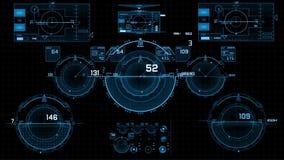 O tela táctil controla o SCIFI