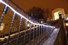 O teleférico de Zagreb Fotografia de Stock Royalty Free
