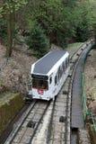 O teleférico em Karlovy varia Imagem de Stock