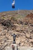 O teleférico na ilha de Tenerife Imagem de Stock Royalty Free